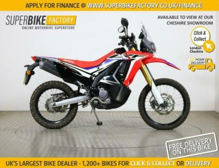 2018 18 HONDA CRF250 RALLY - BUY ONLINE 24 HOURS A DAY
