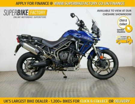 2018 18 TRIUMPH TIGER 800 XRT- BUY ONLINE 24 HOURS A DAY