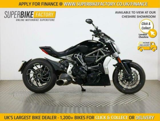 2016 16 DUCATI XDIAVEL S - BUY ONLINE 24 HOURS A DAY