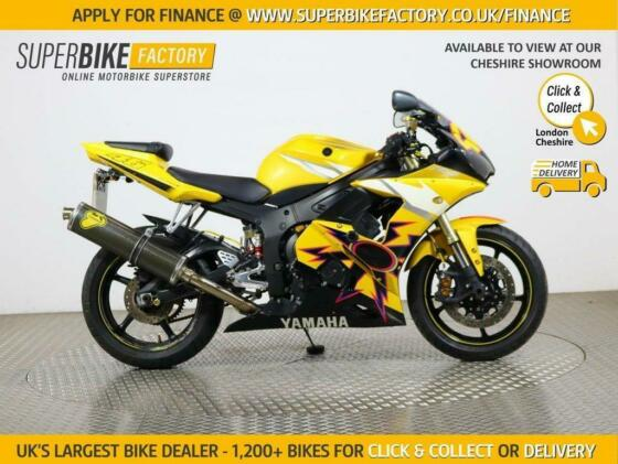 2007 07 YAMAHA R6 YZF - BUY ONLINE 24 HOURS A DAY