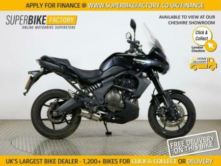 2010 10 KAWASAKI VERSYS 650 KLE A9F - BUY ONLINE 24 HOURS A DAY