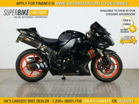 2007 07 KAWASAKI ZX-10R D7F - BUY ONLINE 24 HOURS A DAY