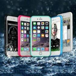 360° Waterproof Dustproof Rubber Phone Case Cover For iPhone X 6s 7 8 Plus 5 SE