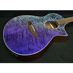 Kyпить IBANEZ AEWC32FM-PSF 6 STRING EXOTIC Acoustic-Electric FLAME TOP Fishman Pickup на еВаy.соm