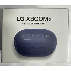 LG XBOOM GO PL2 Portable Bluetooth Speaker with Meridian Technology C6
