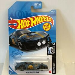 NIP 2021 Hot Wheels Muscle And Blown 184/250 Rod Squad 5/5 Grey New 2021