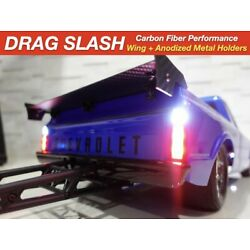Carbon Fiber Wing UPGRADED for Traxxas Drag Slash High End Products + Hardware