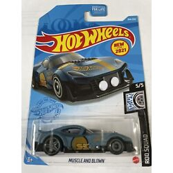 New for 2021 Hot Wheels Muscle And Blown-#5/5 Rod Squad! Low Ship Cost!