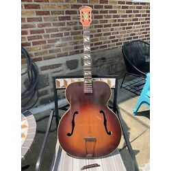 Vintage Silvertone Aristocrat 670 By Kay Archtop Guitar Project