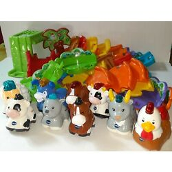 VTech * GO! GO! SMART ANIMALS LOT * Deluxe Track w/ 9 Animals & 35 Track pieces