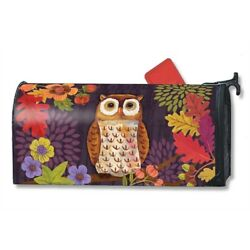 MailWraps - Oversized Mailbox Cover - Floral Owl
