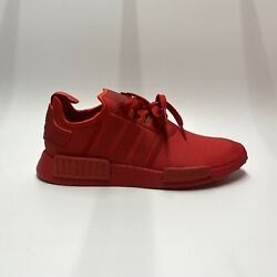 Adidas NMD R1 Triple Scarlet Red FV9017 Running Shoes Men's Sz 9