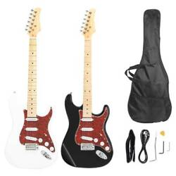 New Stylish Burning Fire Style Pearl-shaped Right Handed Electric Guitar