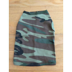 DOG SHIRTS, CODE V BRAND, CAMOUFLAGE, FOR SMALL AND MEDIUM DOGS, QUANTITY 2