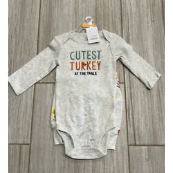Baby Thanksgiving Set Outfit - Cutest Turkey At The Table