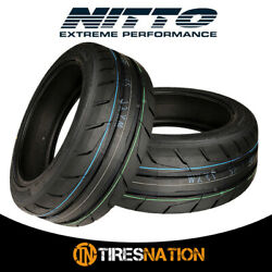 (2) New Nitto NT05 205/50/15 89W Max Performance Tire