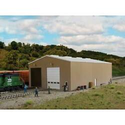 Walthers Cornerstone HO Scale Building/Structure Kit Modern 2-Track Engine House