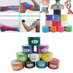 Kinesiology Tape Athletic Muscle Support Sport Elastic Physio Therapeutic Roll
