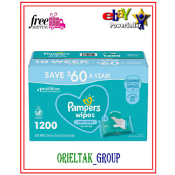 Pampers Scented Baby Wipes, Complete Clean (1200 ct.) Free Shipping***