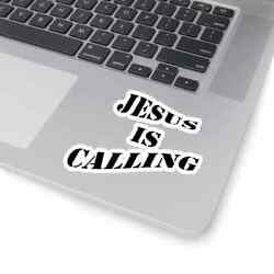 Kiss-Cut Stickers ''Jesus is Calling'' in 4 Sizes