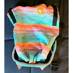Tula Free-to-Grow Adjustable Baby Carrier - Rainbow Print - Excellent Condition