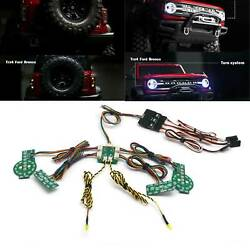 RC Front&Rear LED Lamp Light System Kit for 1/10 Traxxas TRX-4 2021 Ford Bronco