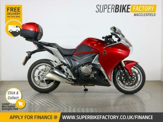 2012 61 HONDA VFR1200F FD-A - BUY ONLINE 24 HOURS A DAY