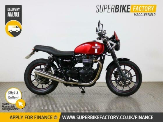 2016 X TRIUMPH STREET TWIN - BUY ONLINE 24 HOURS A DAY