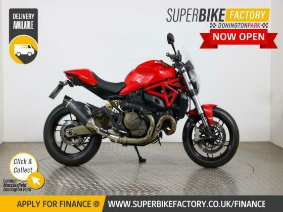 2015 15 DUCATI MONSTER 821 - BUY ONLINE 24 HOURS A DAY