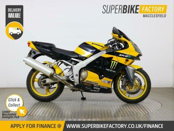 2002 02 KAWASAKI ZX-6R - BUY ONLINE 24 HOURS A DAY
