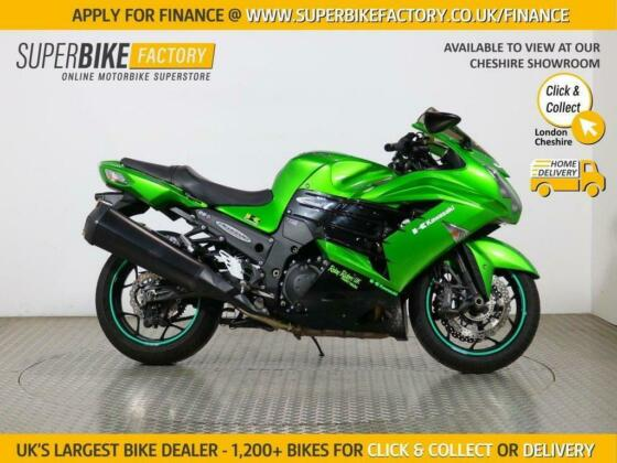 2014 14 KAWASAKI ZZR1400 FEF ABS - BUY ONLINE 24 HOURS A DAY