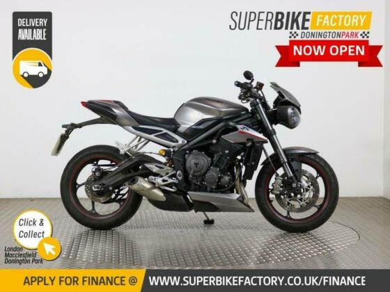 2017 67 TRIUMPH STREET TRIPLE 765 RS - BUY ONLINE 24 HOURS A DAY