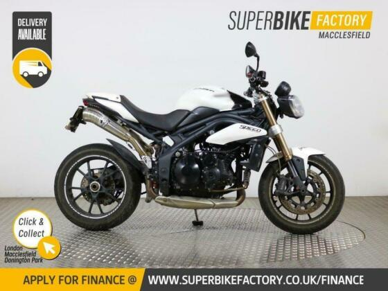 2011 11 TRIUMPH SPEED TRIPLE 1050 -E - BUY ONLINE 24 HOURS A DAY