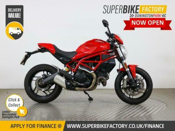 2017 67 DUCATI MONSTER 797 - BUY ONLINE 24 HOURS A DAY