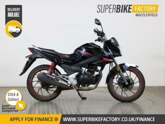 2017 67 HONDA CB125F - BUY ONLINE 24 HOURS A DAY