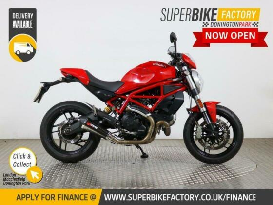 2017 17 DUCATI MONSTER 797 - BUY ONLINE 24 HOURS A DAY