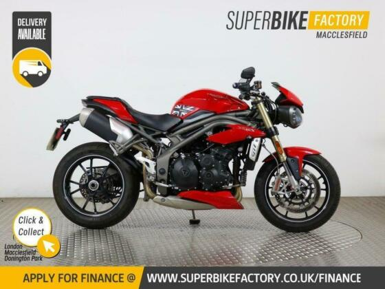 2018 18 TRIUMPH SPEED TRIPLE 1050 S - BUY ONLINE 24 HOURS A DAY