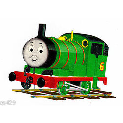 train Thomas wall decal green prepasted border cut out 2.5 inch