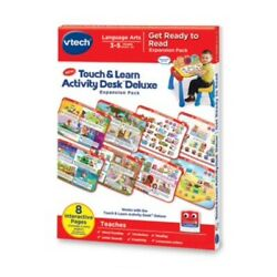 VTech Touch & Learn Activity Desk Deluxe Expansion Pack- Get Ready To Read***