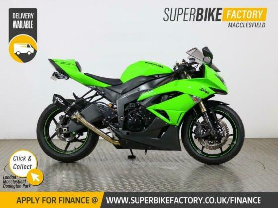 2009 09 KAWASAKI ZX-6R R9F - BUY ONLINE 24 HOURS A DAY