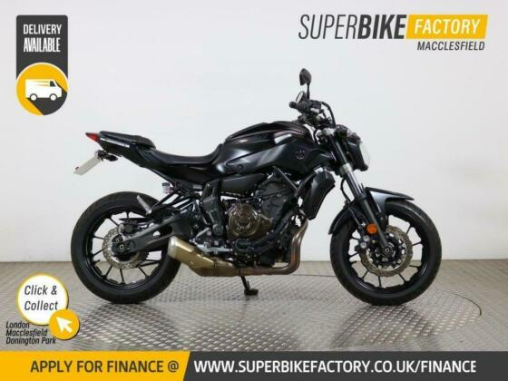 2017 17 YAMAHA MT-07 ABS - BUY ONLINE 24 HOURS A DAY
