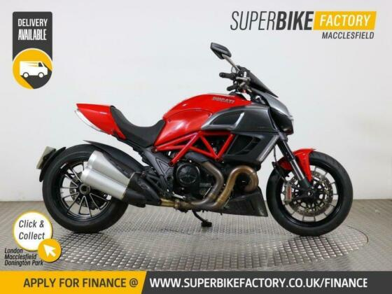 2012 12 DUCATI DIAVEL - BUY ONLINE 24 HOURS A DAY