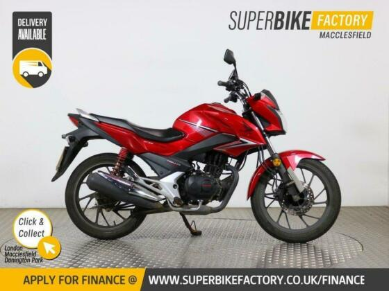 2017 17 HONDA CB125F - BUY ONLINE 24 HOURS A DAY