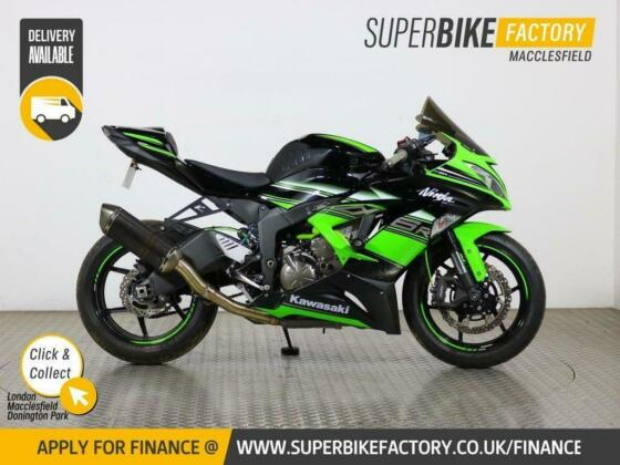 2016 16 KAWASAKI ZX-6R EGFA SPECIAL EDITION - BUY ONLINE 24 HOURS A DAY