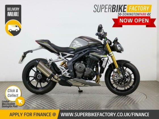 2021 21 TRIUMPH SPEED TRIPLE 1200 RS - BUY ONLINE 24 HOURS A DAY