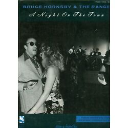 Bruce Hornsby & the Range sheet music song book A Night On the Town