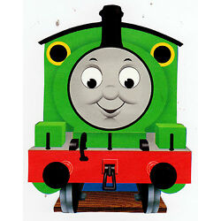 train Thomas wall sticker glossy cut out border 6.5 to 9.5 inch