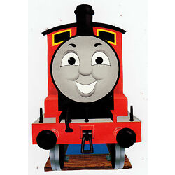 train Thomas wall sticker glossy cut out border 7 to 10 inch