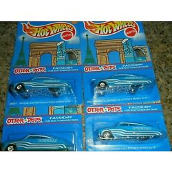 4 LOT HOT WHEELS OTTER POPS PASSION LOUIE BLOO 1949 MERCURY LOW RIDER REALRIDERS