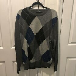 The Savile Row Company London Sweater Pullover Wool Blend XL NEW